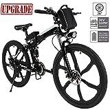 Hiriyt Faltbares E-Bike,36V 250W Elektrofahrräder, 8A Lithium Batterie Mountainbike,26 Zoll Große...