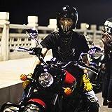 Staubmaske Gegen Verschmutzung Weiche atmungsaktive PVC-Maske für Männer Frauen Radfahren Reiten...