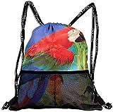 Tropical Glam Banana Leaf Gym Rucksack, Cinch Sack Pull String Taschen Bulk Sport Kordelzug Tasche...
