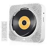CD Player, Tragbare Wandmontierbare CD-Player für zu Hause, CD-Musik-Player Audio-Boombox mit...