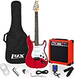 LyxPro 99 cm Electric Guitar Kit Bundle with 20w Amplifier, All Accessories, Digital Clip On Tuner,...