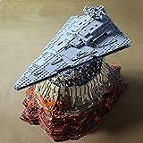 Modbrix Bausteine Sternenzerstrer Empire Over Jedha City MOC, 50 cm, 5098 Klemmbausteine