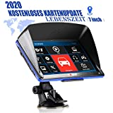 Xgody 886F GPS Navigationsgeräte für Auto,7 Zoll 8GB Motorrad Navi für LKW PKW mit POI...
