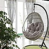Blentude Swing Hanging Basket Sitzkissen, Thicken Hanging Egg Hängematte Stuhlpolster wasserdichte...