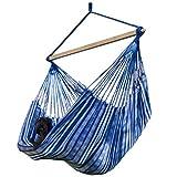 Pinczo Pereira Hängesessel mit Querstab Premium XL, Indoor Outdoor Hängestuhl, Garten Hängematte...