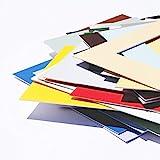 Passepartout Premium Museumsqualitt - 34 Farben in Allen Gren - Reinwei (Farbe) - (Auen: 40x50 / fr...