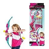 ANNA SHOP Pfeil und Bogen Kinder Set Schieen Spielzeug Schiespiele Set ab 6 Jahre, Soft Sucker Arrow...