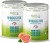 PRE-WORKOUT Shake V BOOSTER - 1000g - Grapefruit - vegan & hochdosiert - Koffein, Citrullin,...