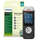 Philips VoiceTracer DVT2810 Audiorecorder Aufnahmegerät digitales Diktiergerät mit Schreibfunktion...