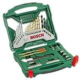 Bosch 50tlg. X-Line Titanium-Bohrer und Schrauber-Set