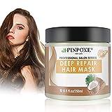 Haarmaske, Hair Mask, Conditioner Haarkur, Argan oil & Keratin Haarkuren strapaziertes und trockenes...