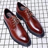 adsl Business Herren Schuhe Freizeit Lederschuhe, Beige - braun - Gre: 41 EU
