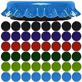 18 Stück extra starke Magneten Ø 3 cm 9mm dick, Edelstahl extra Starke und schöne Magneten...