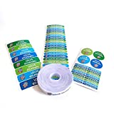155 Etiketten Packung, um Kleidung zu markieren. 100 Stoffetiketten zum Markieren von Kleidung + 55...