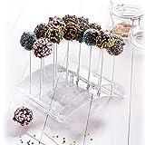 Westmark Cake Pop-Butler, Für bis zu 20 Cake Pops, 22 x 16 x 6 cm, Kunststoff, Transparent,...