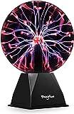 20cm Magische Plasmakugel, Theefun Leucht Ball Elektrostatische Kugel Berührungsempfindliche...