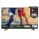 Hisense 43AE7000F 108cm (43 Zoll) Fernseher (4K Ultra HD, HDR, Triple Tuner DVB-C/S/S2/T/T2,...