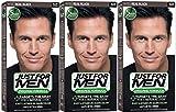 Haarfarbe - Just For Men, echtes Schwarz, H55, 3er Pack