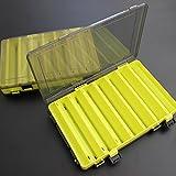 Monland Fischkoeder Box Double Sided Tackle Box Fischkoeder Tintenfisch Jig Pesca Zubehoer Box...