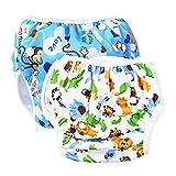 SINSEN Schwimmwindel Baby(2 Stück ),Schwimmwindel Junge,Mädchen, Baby Schwimmhose...