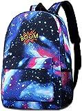 Unisex Boom Sternenhimmel Hintergrund komfortable hochwertige Polyester-Handtaschen für Zoo