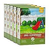 Plantura Spiel- & Sportrasen, 10 kg, strapazierfähiger Rasen für Kinder & Haustiere,...