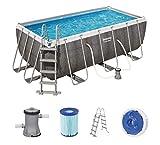 Bestway Power Steel Rectangular Pool Set 412 x 201 x 122 cm