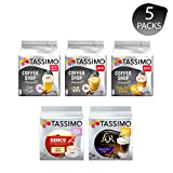 Tassimo Discover Bundle - Coffee Shop Selections Chai Latte/Typ Flat White/Typ Toffee Nut-Latte,...