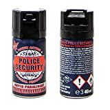 Megaprom 2X 40g Police Security CS-Gas Tränengas, Verteidigungssprays, Tierabwehrspray,...