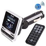 OPNIGHDYMD Auto Bluetooth FM-Transmitter, mit Fernbedienung, Untersttzungs-USB/TF-Karte / MP3-Musik...