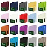 NatureMark 2er Pack MICROFASER Spannbettlaken, Spannbetttuch Doppelpack in vielen Gren und Farben...