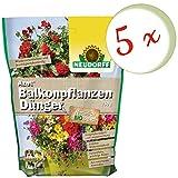 Oleanderhof Sparset: 5 x NEUDORFF Azet BalkonpflanzenDünger, 750 g + gratis Oleanderhof Flyer