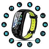 Tipmant Fitness Armband mit Pulsmesser Blutdruckmessung Smartwatch Fitness Tracker Wasserdicht IP68...