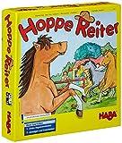 Haba 4321 - Hoppe Reiter Pferdestarkes Wettlaufspiel, für 2-4 Spieler von 3-12 Jahren, Spielbar in...