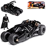Jada Batmobile und Batman The Dark Knight mit Figur 1/24 Modell Auto