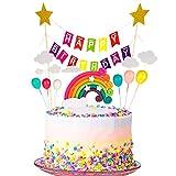 You&Lemon Tortendeko Geburtstag, Cake Topper Tortendekoration kuchendeko, Tortendeko Geburtstag Set...