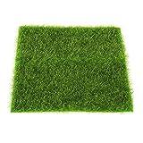 MIFASA Knstlicher Rasen, Garten, Landschaft, Heimdekoration, 30 cm x 30 cm
