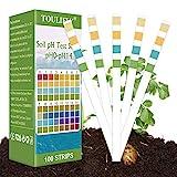 pH Bodentest,Boden PH Teststreifen,Bodenmessgerät für Pflanzen,Boden pH Tester,0-14 PH Pflanze...