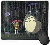 Mein Nachbar Totoro Mauspad Büro Schreibtisch Pad Gummimaus Matte 9.811.8 Zoll Computermatte