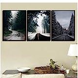 safsadd Spray Landscape Series Leinwand Dekoration Für Zuhause Gemälde Foto Wandkunst Bilder...