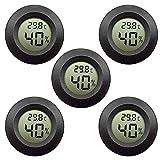 EEEKit Hygrometer Thermometer Digitaler LCD-Monitor Innenluftfeuchtigkeitsmessger?t Messger?t für...