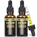2 Pack Naturöl Tropfen 90 PROZENT - 10ML, Premium Qualität Öl, Pflanzliche Omega 3 6 + 9 (10000)