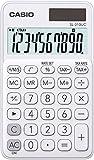 CASIO Taschenrechner SL-310UC, 10-stellig, Trendfarben, Steuerberechnung, Tausenderunterteilung,...