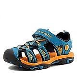 Jungen Sandalen, Kinder Jungen Mädchen Sandalette Schuhe Outdoor Sport Sandalen Klettverschluss...