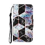 Miagon für Samsung Galaxy A11/M11 Hülle,Bunt Muster Handytasche Flip Case PU Leder Cover Magnet...