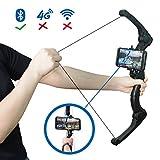 AR Game Bogenpfeil, Mozeeda Faltbarer Bogen für Kinder & Erwachsene, AR Bluetooth Schließen Sie...