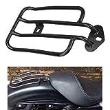 Ambiente schwarz Motorrad Gepcktrger Solo Sitz Gepcktrger vergoldet Gepckregal fr Harley Sportster...