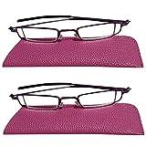 Kompakte Lesebrille Leichtgewicht Leser Spring Hinge Arms Lupe Brillen erhältlich Anti Eyestrain