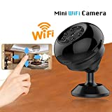WXJHA WiFi Mini-Camcorder HD 1080P Video-Camcorder 4K Kamera Innen Drahtlose Überwachungskamera...