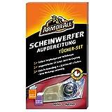 Armor All 20440 Scheinwerferaufbereitungs-Tücher-Set, 2 teilig